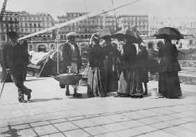 Algiers, late 19th century (b/w photo)