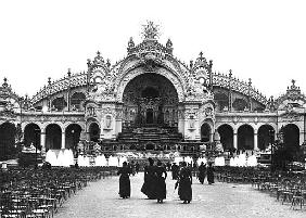 The Palace of Electricity at the Universal Exhibition of 1900