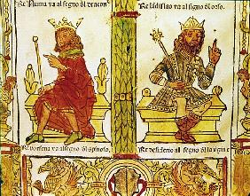 King Porsenna and King Desiderius, from ''The Book of Fate'' by Lorenzo Spirito Gualtieri