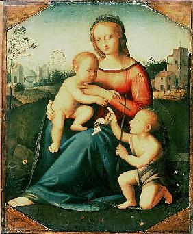 Madonna and Child with St. John the Baptist