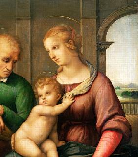 The Holy Family, 1506 (detail of 47576)
