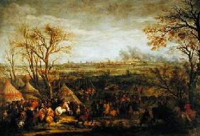 The Taking of Cambrai in 1677 by Louis XIV (1638-1715) late 17th