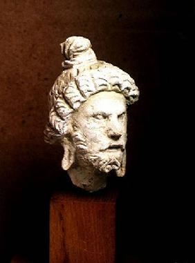 Head of Brahma, Afghanistan 2nd-4th ce