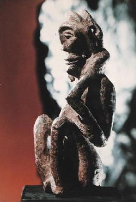 Nomali figure of the Mende tribe or a pondo figure of the Kissi tribe, from Sierra Leone possibly 1