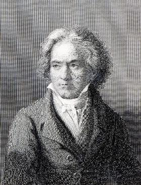 Ludwig van Beethoven; engraved by William Holl the Younger