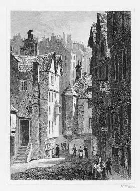 High School, Wynd, Edinburgh ; engraved by William Watkins
