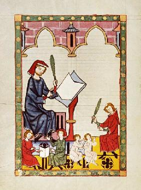 Schoolmaster of Esslingen / Codex Manes