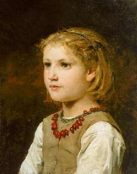 Bildnis zweier Mädchen Kunstpostkarte Renoir