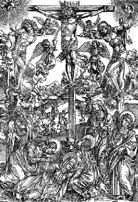 Large Crucifixion / Dürer / c.1496 1496