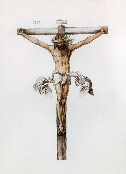 Albrecht Dürer, Christ on Cross