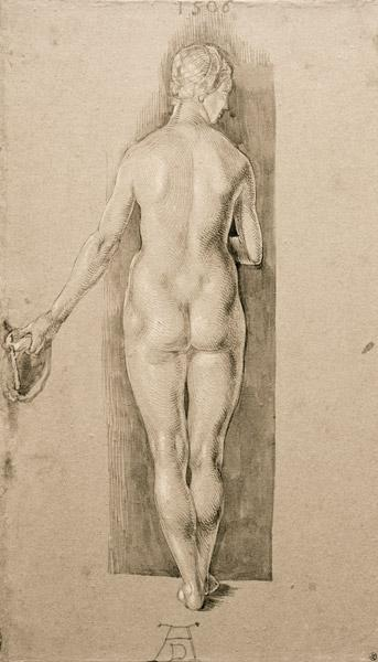 A.Dürer, Female Nude fr.Behind / 1506 1506