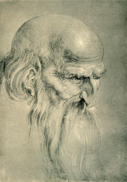 Head of an Apostles / Dürer / 1508