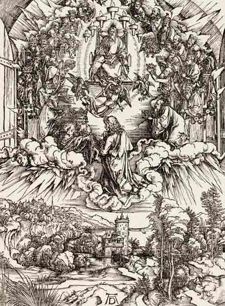 John before God & the Elders / Dürer