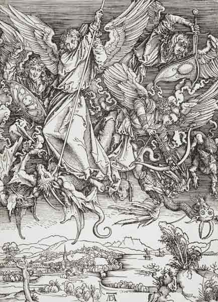 Duerer / St. Michael and the Dragon