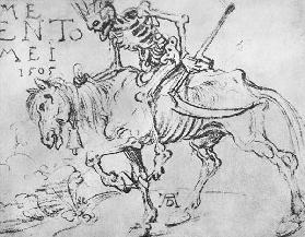 Duerer, King Death on Horseback 1505
