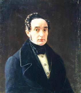Portrait of the author Ivan Panayev (1812-62)