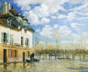 The Boat in the Flood, Port-Marly 1876