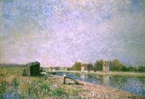 The Loing at Saint-Mammes 1884
