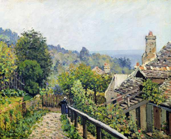 Louveciennes or, The Heights at Marly 1873