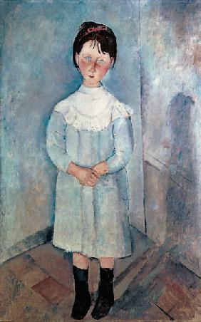 A.Modigliani, Girl in blue