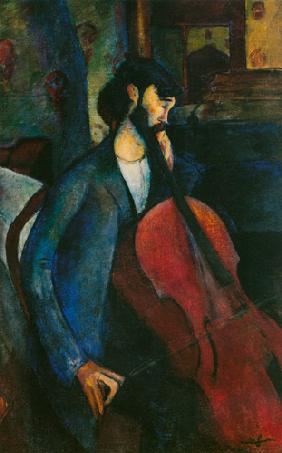 Der Cellist 1909