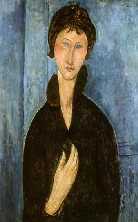 Woman with Blue Eyes c.1918