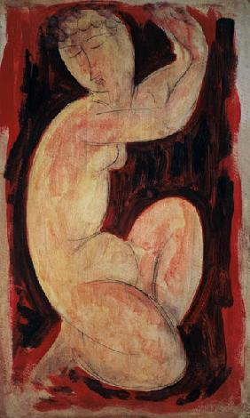 Red Caryatid, 1913 (oil, tempera and crayon on 1913