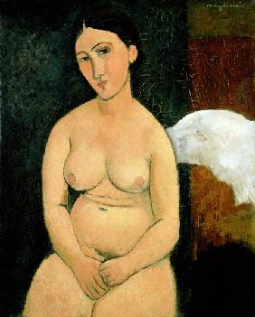Seated Nude c.1917