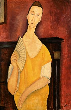 Woman with a Fan (Lunia Czechowska)