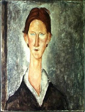 Portrait of a Student c.1918-19