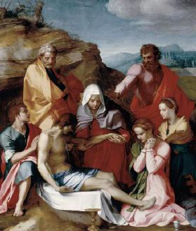 Lamentation over the Dead Christ 1524