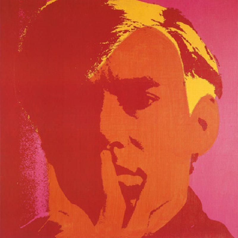 self portrait 1966 andy warhol als kunstdruck oder handgemaltes gem lde. Black Bedroom Furniture Sets. Home Design Ideas