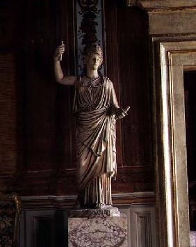 Antique statue of Minerva from the collection of Cardinal Pietro Aldobrandini
