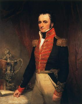 Portrait of Admiral Sir James Stirling (1791-1865), first Governor of Western Australia 1829-39 c.1833
