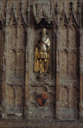 Statue of Lionel (1338-68) Duke of Clarence 14. Jh.