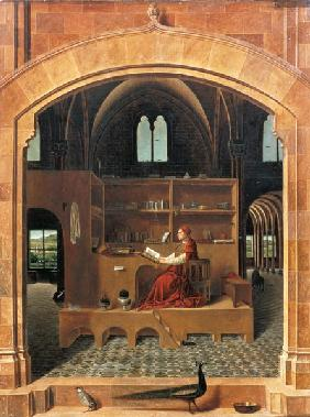 St. Jerome in his study 1475