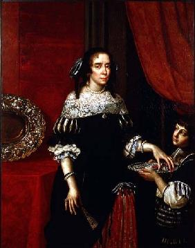 Portrait of Countess Gonzaga di Novellara 1666