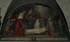 The Death of St. Antoninus, lunette