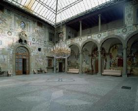 Internal courtyard, (photo) 1601