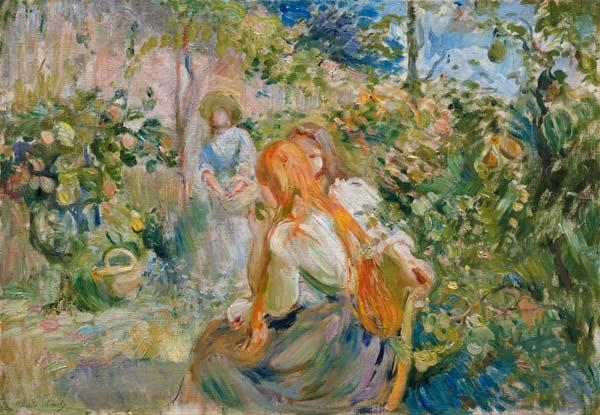 In the Garden at Roche-Plate 1894