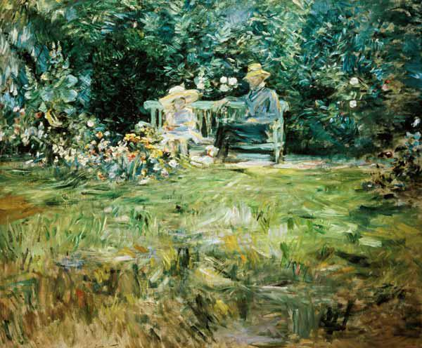 The Lesson in the Garden 1886