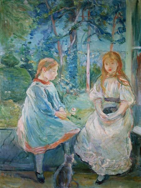 Young Girls at the Window 1892