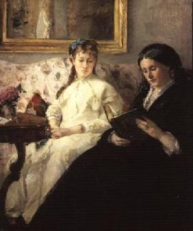 Portrait of the Artist's Mother and Sister 1869-70