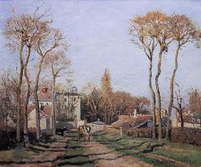 Entrance to the Village of Voisins, Yvelines 1872