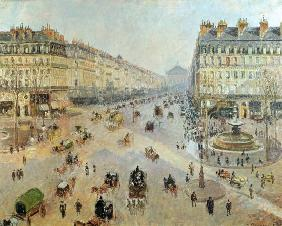 The Avenue de L'Opera, Paris c.1880