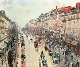The Boulevard Montmartre 1893