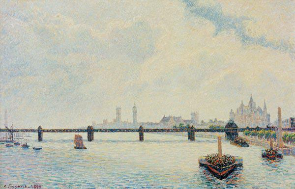 C.Pissarro, Charing Cross Bridge