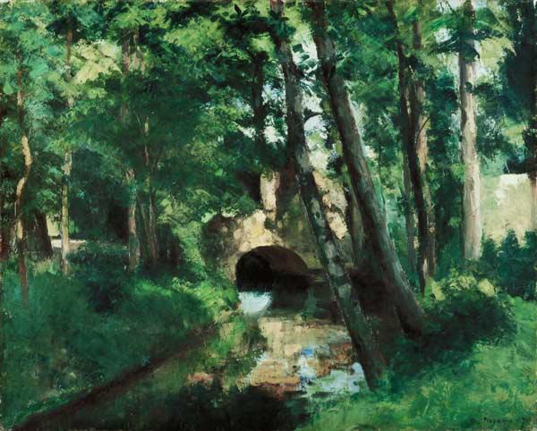 The Little Bridge, Pontoise 1875