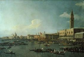 The Basin of San Marco on Ascension Day c.1740