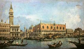 The Molo and the Piazzetta San Marco, Venice um 1730